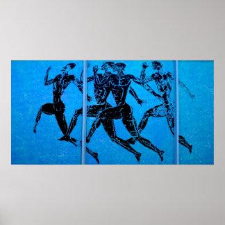 Athens Marathon Blue Print