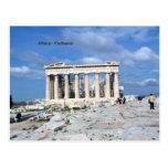 Athens Parthenon Post Card