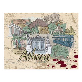 Athens Post Card