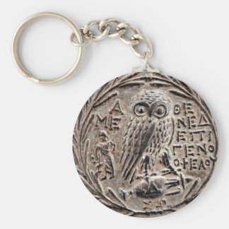 Athens Silver Tetradrachm Key Ring