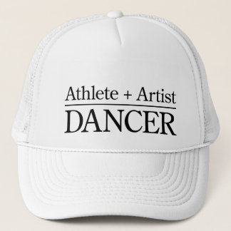 Athlete + Artist = Dancer Trucker Hat
