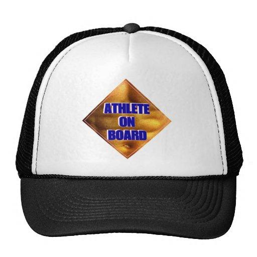 Athlete on Board Hats