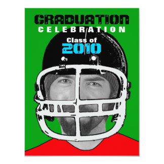 Athlete Photo Insert Graduation Party E Invitation