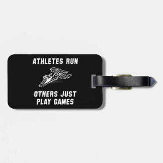 Athletes Run Luggage Tag
