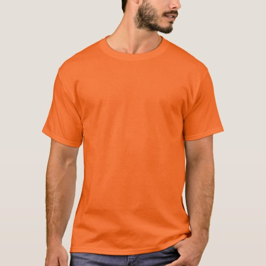Athletic Orange Men's Basic T-Shirt