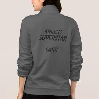 Athletic Superstar Fleece Jacket