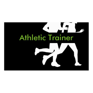Athletic Trainer Pack Of Standard Business Cards