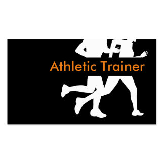 Athletic Trainer Design Pack Of Standard Business Cards