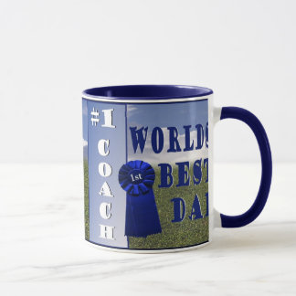 Athletics - Worlds Best Dad & #1 Coach Coffee Mug