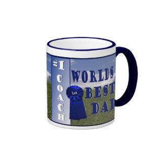 Athletics - Worlds Best Dad & #1 Coach Coffee Mug