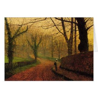 Atkinson Grimshaw Stapleton Park 1877 CC0060 Card