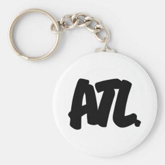 ATL Letters Key Ring