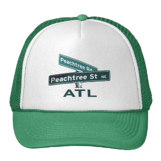 ATL Peachtree Signs Mesh Hat