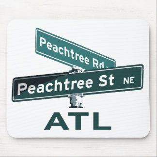 ATL Peachtree Signs Mouse Pads