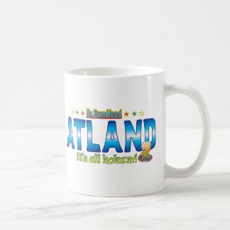 Atland Dr. B Head Basic White Mug