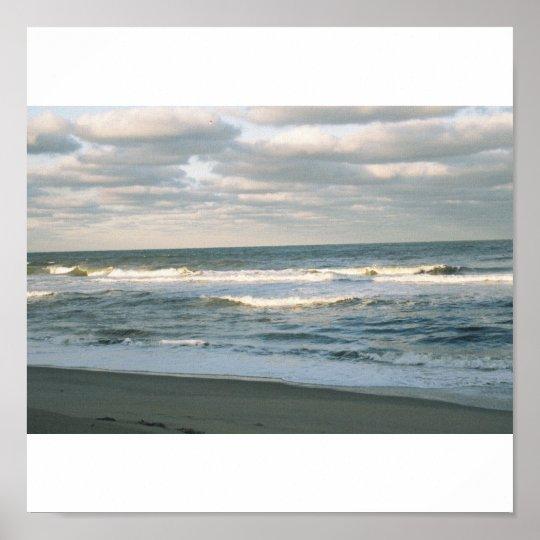 Atlanic ocean, NC Poster