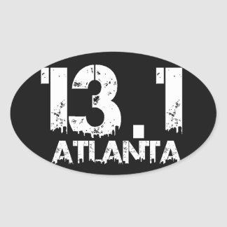 Atlanta 13.1 Half Marathon Sticker