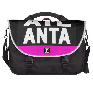 Atlanta 2 Pink Laptop Messenger Bag