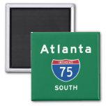 Atlanta 75 magnet