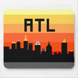 Atlanta 8-Bit Skyline ATL Mouse Pad