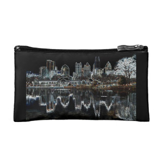 Atlanta Aglow City Skyline Bag / Purse Cosmetic Bags