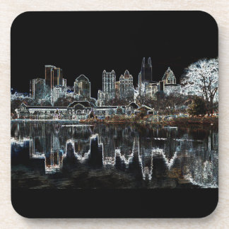 Atlanta Aglow City Skyline Coasters
