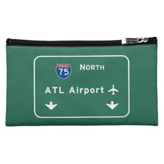 Atlanta ATL Airport I-75 N Interstate Georgia - Cosmetic Bag