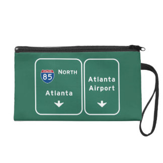 Atlanta ATL Airport I-85 N Interstate Georgia - Wristlets