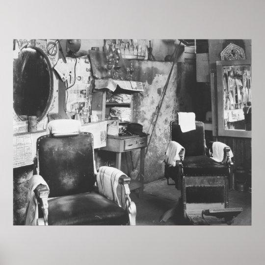 Atlanta Barber Shop: 1936 Poster