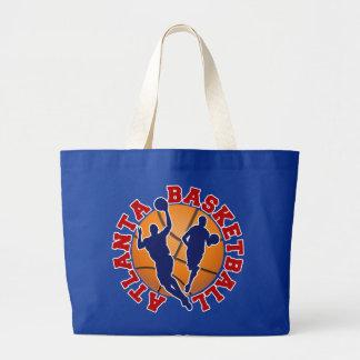 Atlanta Basketball Jumbo Tote Bag