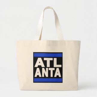 Atlanta Blue Tote Bags