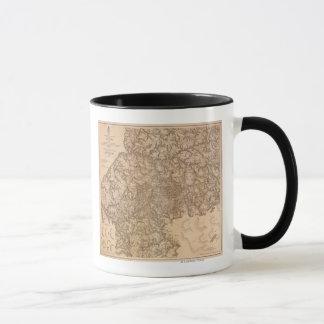 Atlanta Campaign - Civil War Panoramic Map 3 Mug