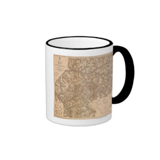Atlanta Campaign - Civil War Panoramic Map 3 Coffee Mug