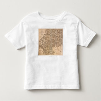 Atlanta Campaign - Civil War Panoramic Map 3 Toddler T-Shirt