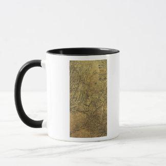 Atlanta Campaign - Civil War Panoramic Map Mug