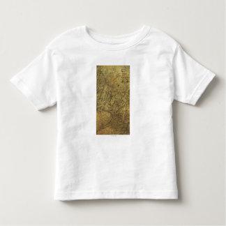 Atlanta Campaign - Civil War Panoramic Map Toddler T-Shirt