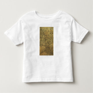 Atlanta Campaign - Civil War Panoramic Map Toddler T-Shirt