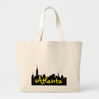 Atlanta Cityscape Jumbo Tote Jumbo Tote Bag