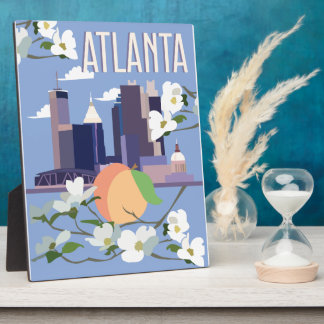 Atlanta Display Plaque