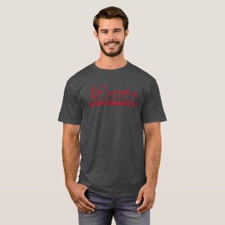 ATLANTA DISTRESSED DESIGN T-SHIRT