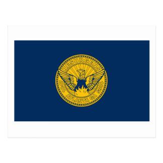 Atlanta Flag Postcard