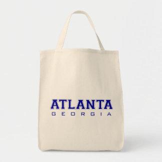 Atlanta, GA - Blue Letters Bags