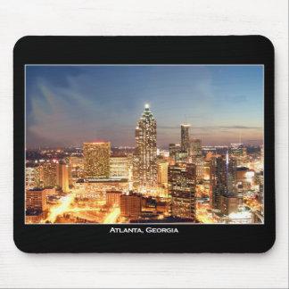 Atlanta, Georgia at Night - Beautiful Skyline Mouse Mat