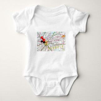 Atlanta, Georgia Baby Bodysuit