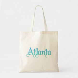 Atlanta Georgia Canvas Bag