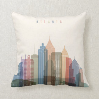 Atlanta, Georgia | City Skyline Cushion