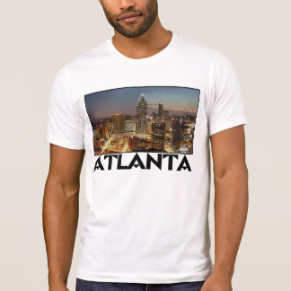 ATLANTA GEORGIA Digital Art City Skyline tee