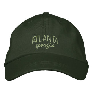 Atlanta Georgia Embroidered Hat