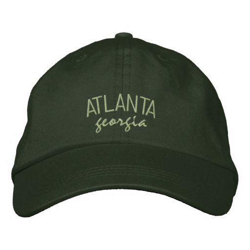 Atlanta Georgia Embroidered Hat
