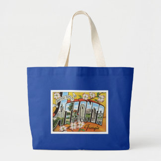 Atlanta Georgia GA US USA Large Tote Bag
